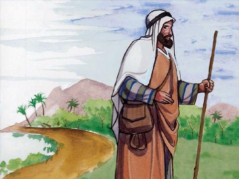 Un homme descend de Jérusalem à Jéricho.