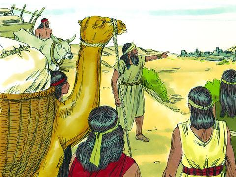 Cyrus permet aux Juifs exilés à Babylone de retourner chez eux et de reconstruire le Temple de Jérusalem accomplissant ainsi la prophétie biblique énoncée deux siècles plus tôt par le prophète Esaïe.