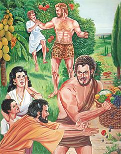 La terre était corrompue devant Dieu, elle était pleine de violence. Il y avait des géants sur la terre à cette époque-là. Ce fut aussi le cas après que les fils de Dieu se furent unis aux filles des hommes et qu'elles leur eurent donné des enfants.