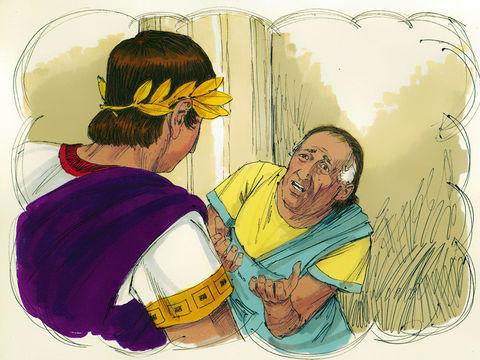 Jésus nous enseigne au travers de la parabole du débiteur impitoyable qui s'était vu remettre une très grosse dette par le roi mais qui, à sa sortie de prison, s'en prend violemment à un compagnon qui ne lui devait que 100 pièces d'argent.