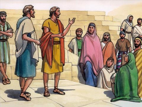 Ils partirent et allèrent de village en village; ils annonçaient la bonne nouvelle et faisaient partout des guérisons.