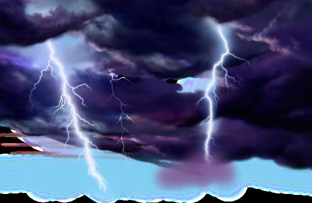 Les éclairs, les coups de tonnerres, les voix puissantes, les trompettes, les tremblements de terre sont utilisés pour exprimer l'intensité, la force, la colère, la puissance, l'importance des messages de l'Apocalypse. Ils engendrent la crainte pour tous.