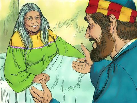 L'apôtre Pierre ressuscite Dorcas, une chrétienne dévouée.