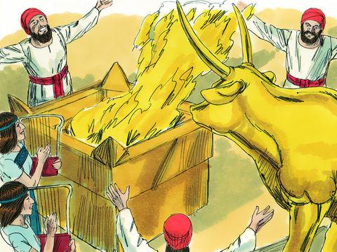 Les Israélites abandonnaient le culte du seul vrai Dieu, Jéhovah, pour se prosterner devant des dieux en métal, comme Baal et Astarté. Ils commettaient l'adultère spirituel.