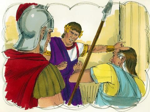Jésus nous enseigne au travers de la parabole du débiteur impitoyable qui s'était vu remettre une très grosse dette par le roi mais qui, à sa sortie de prison, s'en prend violemment à l'un compagnon qui ne lui devait que 100 pièces d'argent.