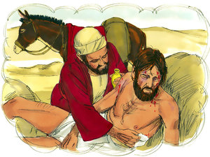 La parabole de Jésus du bon Samaritain nous enseigne l'amour du prochain