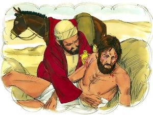 Jésus avait de la considération pour les plus petits et les plus faibles. Il s'adaptait à son auditoire pour transmettre un enseignement de qualité et utilisait des paraboles comme la parabole de Jésus du bon Samaritain enseignant l'amour du prochain