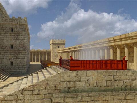 Le Temple de Salomon est le premier temple de Jérusalem dédié au culte de Jéhovah (ou Yahvé ou Yahweh). Il a été édifié par Salomon en 7 ans avec les matériaux les plus nobles, les plus précieux.