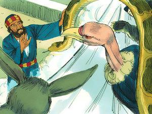 La vision lui demande de manger les animaux impurs, reptiles oiseaux 3 fois. Cela signifiait que les règles allaient changer. Désormais les non-juifs pourraient aussi devenir chrétiens.
