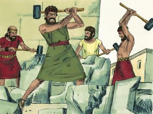 Le roi Josias a fait détruire toutes les idoles et tous les hauts-lieux