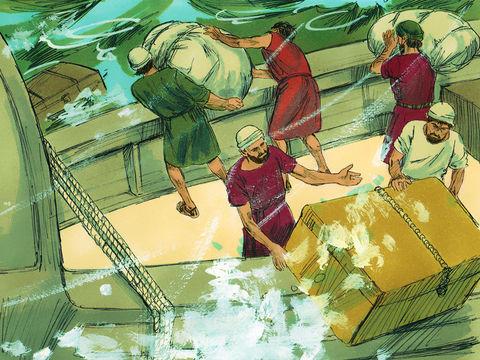 Au cours de son quatrième voyage (qui n'est pas un voyage missionnaire), à destination de Rome, Paul est escorté avec d'autres prisonniers par un officier nommé Julius. Ils subissent une terrible tempête et le bateau fait naufrage sur l'île de Malte.