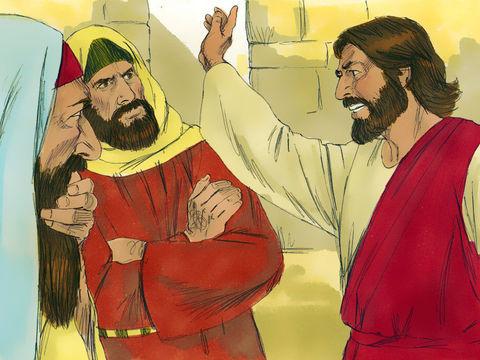 Jésus fustigeait les Pharisiens qui étaient attachés aux traditions et oubliaient le plus important.