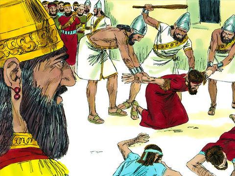 Puisque le peuple de Juda n'a pas écouté les paroles de Dieu, malgré les très nombreux avertissements, le pays deviendra un endroit dévasté dépourvu de joie et de vie. Juda et les nations voisines seront asservies au roi de Babylone pendant 70 ans.