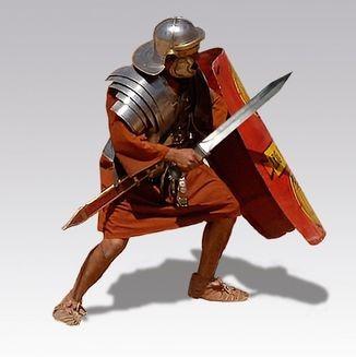 L'armée romaine est composée de légions. La légion est elle-même divisée en 10 cohortes de 480 hommes. Et la cohorte est elle-même formée de 3 manipules de 160 hommes chacun. Dans la prophétie de Daniel, l'Empire romain est représenté par le fer.