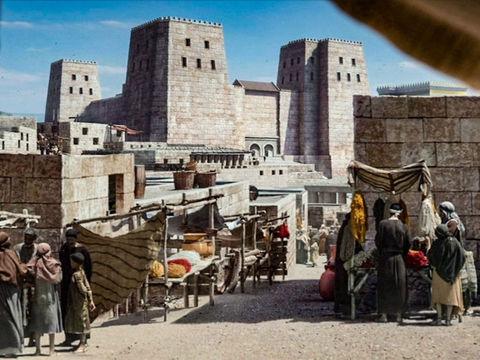 Jérusalem est citée presque 800 fois de la Genèse (Salem) à l'Apocalypse (la Nouvelle Jérusalem). Cette ville chargée de symbole a été, jusqu'à sa destruction en 587 av J-C, le siège de la théocratie. Melchisédek, roi et prêtre de Salem.