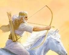 Le fait que le premier cavalier de l'Apocalypse porte un arc l'identifie-t-il à l'antichrist ? La comparaison est faite avec Apocalypse 19 où Jésus est représenté avec une épée sortant de sa bouche.