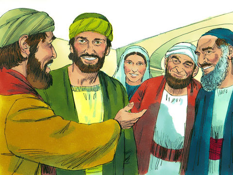 Alors Saul, appelé aussi Paul, rempli du Saint-Esprit, fixa les regards sur lui. Saul ou l'apôtre Paul a été rempli d'esprit saint.