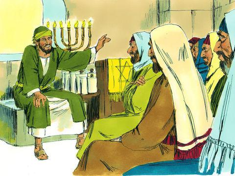 Les tout premiers chrétiens étaient d'origine juive tout comme Jésus. De ce fait, ils avaient tendance à accorder une très grande importance au respect des commandements de la Loi mosaïque transmise par Dieu. Paul essaie de les raisonner.
