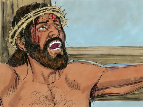 Mon Dieu, mon Dieu, pourquoi m'as-tu abandonné?  Entre tes mains je remets mon esprit; tu me délivreras, Yahweh, Dieu de vérité!