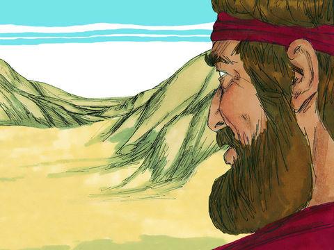 Après 3 ans de sècheresse et de famine en Israël. Elie vient vers le roi Achab.