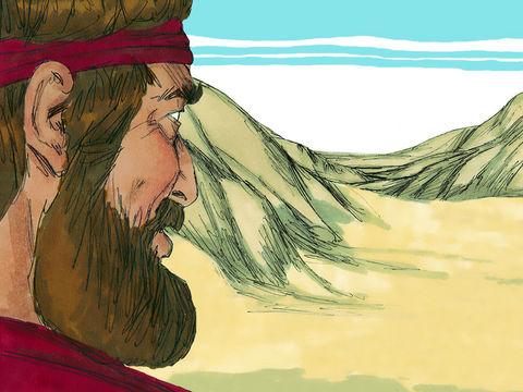 Dieu communique également avec le prophète Elie qui doit fuir dans le désert pour échapper à la reine Jézabel et lui donne la force de marcher jusqu'au mont Horeb. Moïse, Elie et Jésus ont tous trois passé 40 jours et 40 nuits dans le désert.