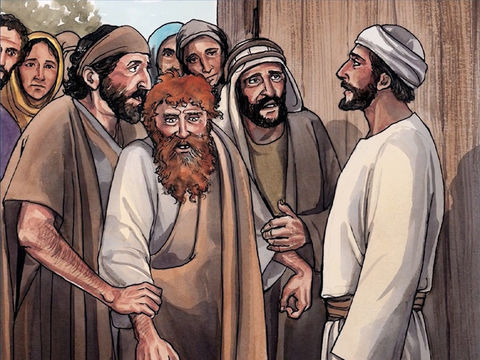 Jésus chassait les mauvais esprits. Des villes voisines même, les gens accouraient en foule à Jérusalem pour amener des malades et des personnes tourmentées par de mauvais esprits. Et tous étaient guéris.
