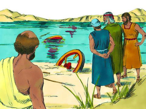J'ai fait sortir vos pères d'Égypte et vous êtes arrivés à la mer. Les Égyptiens poursuivaient vos pères jusqu'à la mer des Roseaux, avec des chars et des cavaliers. Les Égyptiens meurent noyés dans la mer Rouge.