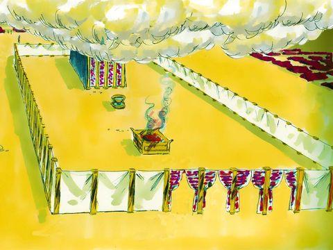Dans le Tabernacle, les voiles, les rideaux et les tapis étaient en lin. L'importance du lin dans la Bible.