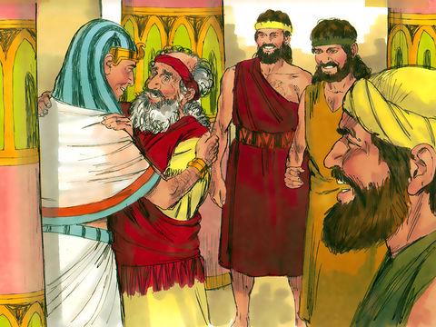 70 âmes ou 70 personnes issues de la famille de Jacob s'installent en Egypte. C'est la famine qui les a poussées à s'installer en Egypte où la nourriture était abondante grâce aux réserves faites par Joseph, intendant d'Egypte.