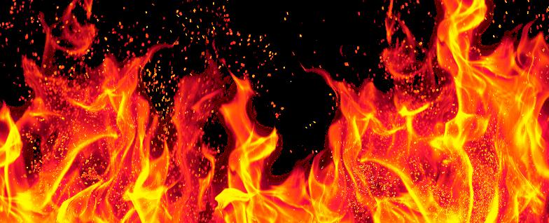 Le Feu de la colère de Jéhovah Dieu. Le nom de Jehovah vient de loin, sa colère brûle, son feu est violent, ses lèvres sont pleines de fureur et sa langue un feu dévorant. car le feu de ma colère s'est allumé et il brûlera la terre et ses produits...