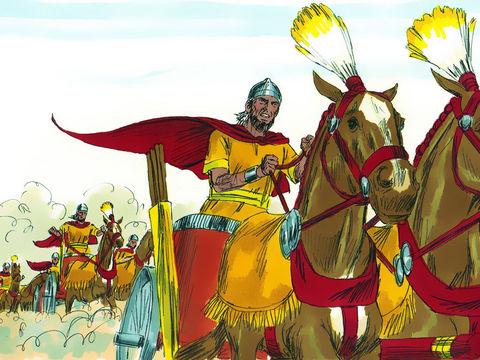Salomon possédait 1400 chars, ce qui est énorme pour l'époque ! Faire venir un char d'Egypte coûtait à Salomon 600 pièces d'argent . Le roi Jabin de Canaan a opprimé les Israélites pendant 20 ans avec ses  900 chars de fer.