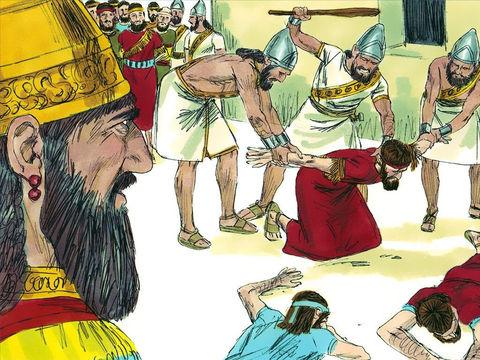 Les prophètes Ézéchiel et Zacharie prophétisent l'issue finale du siège par les Babyloniens. 1/3 des habitants de Jérusalem devaient mourir de peste ou de famine, 1/3 devaient mourir par l'épée et 1/3 seraient déportés (à Babylone).