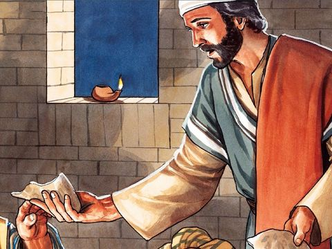 Lors de la célébration de la Pâque juive, Jésus a demandé à ses disciples : « Faites ceci en souvenir de moi ». Le pain et le vin représentent son corps et son sang qu'il donne en sacrifice propitiatoire.