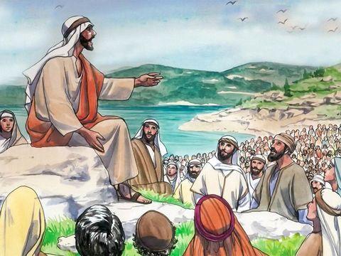 Jésus a enseigné que son Père, Jéhovah Dieu, est plus grand que lui et qu'il ne fait rien de sa propre initiative mais il est soumis à son Père et son Dieu et chef. Jésus a fait connaître la gloire de son Père.