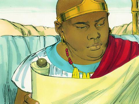 L'humble va ouvrir son cœur à l'enseignement de Dieu et de Jésus comme l'eunuque éthiopien