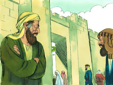 Saul de Tarse, de persécuteur devient persécuté à son tour. Peu après sa conversion, à Damas, alors que Saul prêche avec enthousiasme des Juifs essaient de le tuer.
