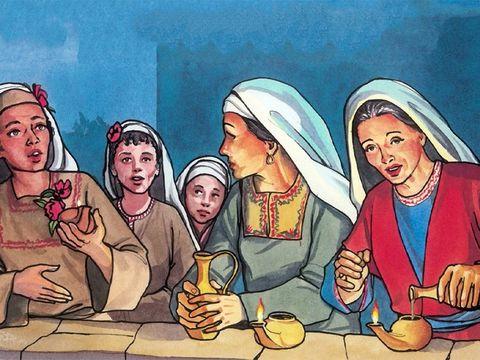 En effet, je suis jaloux de vous, de la jalousie de Dieu, parce que je vous ai fiancés à un seul époux pour vous présenter à Christ comme une vierge pure. Seule la moitié d'entre elles ont été prévoyantes et ont pris de l'huile pour leur lampe.