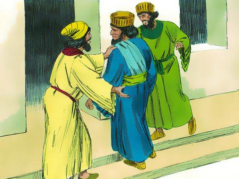 La date d'application du décret qui verra l'extermination effroyable de tout un peuple est fixée au 13e jour du 12ème mois (Adar) par tirage au sort, « pour » en hébreu (et pûrû en akkadien) d'où dérivera le mot « Pourim » ou « fête des sorts ».