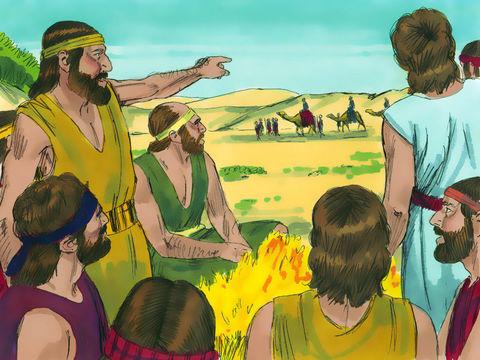 Les frères de Joseph sont jaloux de Joseph, ils le vendent à des marchands madianites qui vont en Egypte