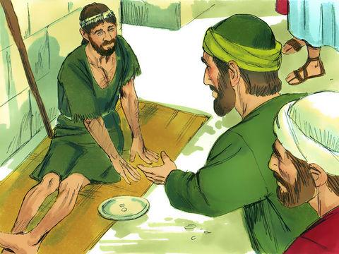 L'apôtre Paul guérit un infirme de naissance à Lystre.