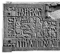 Charlemagne se débarrasse des dieux et des idoles qui étaient vénérés depuis longtemps par les peuples polythéistes conquis. Renvoyés au pays de l'idolâtrie avec tous leurs accessoires rituels, ils n'exercent plus aucune influence sur les populations.
