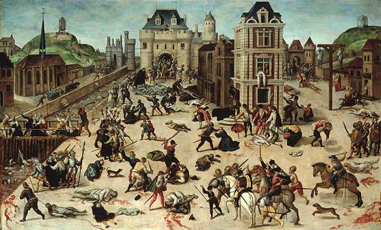 La chrétienté est coupable d'avoir versé beaucoup de sang innocent. Catholiques ont massacré protestants et les chrétiens sincères qui voulaient lire la Bible.
