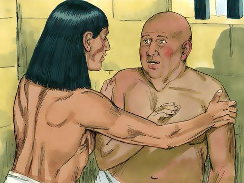 Joseph annonce au chef des boulangers que les 3 corbeilles de son rêve symbolisent 3 jours au bout desquels il sera mis à mort par pendaison. Daniel a interprété ce rêve alors qu'il était en prison en Egypte.