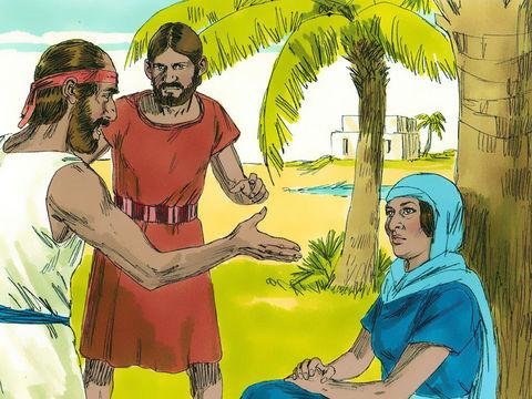 La juge et prophétesse Déborah jugeait le peuple d'Israël sous un palmier. Cela symbolisait la paix, la justice et la sérénité à l'ombre du soleil accablant. Dans la Bible, elle est la seule femme à occuper une telle fonction.