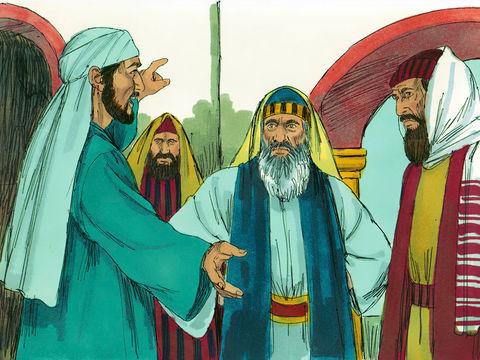 Etienne est un jeune chrétien plein d'esprit saint et de sagesse à qui a été confiée, avec 6 autres, la gestion de la distribution alimentaire quotidienne aux chrétiens nécessiteux de Jérusalem.