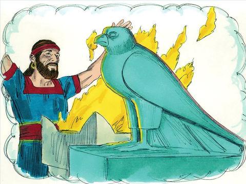 Les Israélites étaient idoâtres. Ils avaient abandonné le culte du seul vrai Dieu pour se prosterner devant des idoles en pierre et en bois. C'est la prostitution spirituelle.