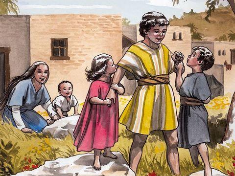 Jésus aura des frères et soeurs.