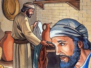 Jésus donne une leçon d'humilité en lavant les pieds de ses disciples