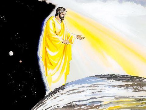Jésus est le Fils de Dieu, celui qui nous a créés sous le regard de son Père. Jésus joue un rôle central dans le dessein de Dieu.