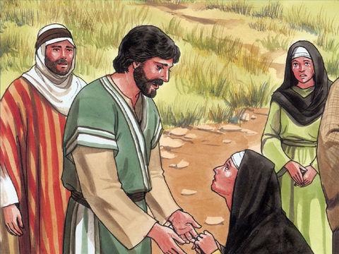 En voyant Marie, la sœur de Lazare, et les Juifs qui sont venus la consoler, Jésus est profondément bouleversé. Il pleure à son tour la mort de son ami.